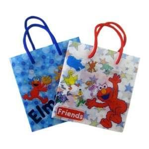 Elmo and Friends Gift Bags   Small 6 Piece GiftBag Set
