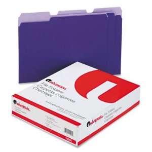 Universal Colored File Folders UNV10505