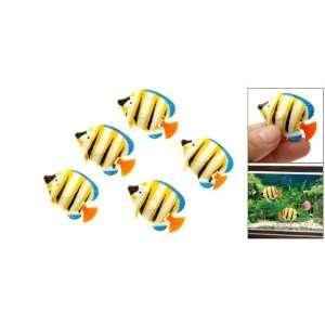 Colorful Plastic Mini Fish Aquarium Tank Ornament Decor Pet Supplies