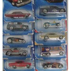 Hot Wheels BF Goodrich 10 Car Set  EXCLUSIVE Chevy
