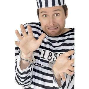 Smiffys Handcuffs   Police Woman/Man/Policeman Cop Fancy