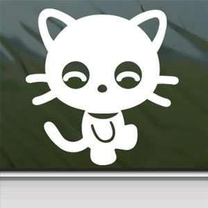 Sanrio Hello Kitty Laptop Vinyl White Decal Arts, Crafts & Sewing