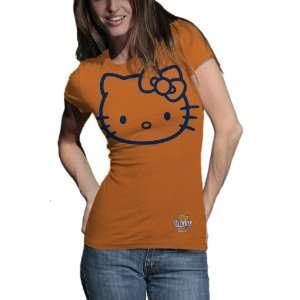 Illini Hello Kitty Inverse Junior Crew Tee Shirt
