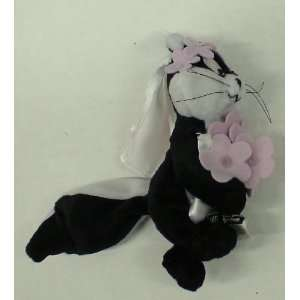 com Looney Tunes 6 Holiday Beanie Plush Doll Penelope Toys & Games