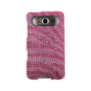 Hot Pink and Pink Zebra For HTC HD7 HD7S Cell Phones & Accessories