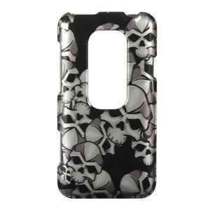 HTC EVO 3d (Sprint) Premium Snap on Phone Protector Hard Cover Case
