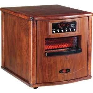CZ Infrared Space Heater   5600 BTU, Walnut Body, Model