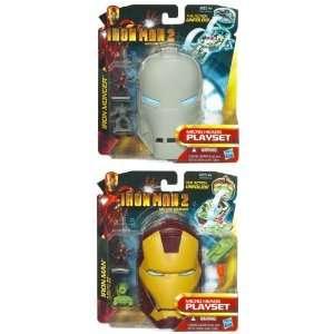 Iron Man 2 Mirco Head Asst Wave 1 10 Case Of 6  Toys & Games