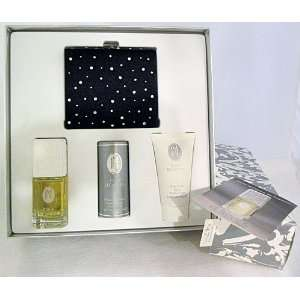 new JESSICA McCLINTOCK parfum, powder, lotion, Black Satin