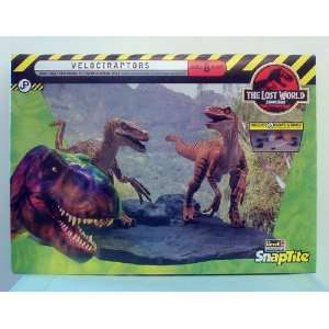 Jurassic Park The Lost World  Velociraptors Snaptite Kit  Toys