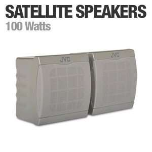JVC SX XSW31 Full Range Satellite Speakers Electronics