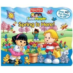 Price Little People Lift the Flap Book Spring is Here  N/A  Books