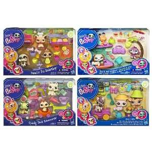 Littlest Pet Shop Themed Play Packs Wave 4 Toys & Games
