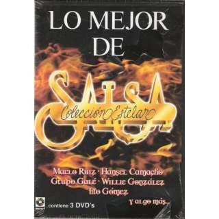 Lo Mejor De La Salsa Coleccion Estelar Contiene 3 Dvds 45