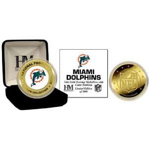 Highland Mint Miami Dolphins Commemorative Coin  NFL SHOP