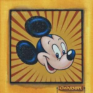 Presenting Mickey Mouse   Disney Fine Art Giclee by Trevor