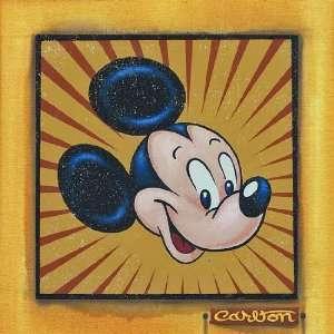 Presenting Mickey Mouse   Disney Fine Art Giclee by Trevor