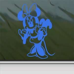 Disney Blue Decal Mickey Minnie Mouse Truck Window Blue