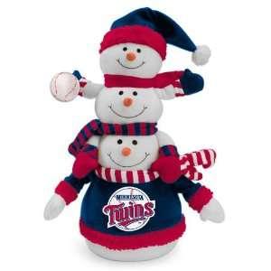 MLB Minnesota Twins Plush Towering Triple Snowman