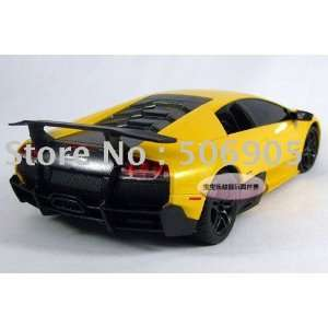 24 xinghui 4 sv new fund racing car remote control model car yellow