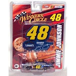 Winners Circle Nascar #48 Jimmie Johnson Lowes Car 164