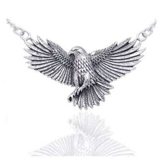 Native American Indian Large Eagle Necklace 18 Jewelry: