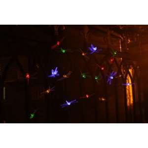 New BRIGHT & MULTI COLOR Dragonfly, 20 LED, Sloar Powered