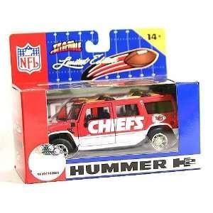 NFL Kansas City Chiefs DieCast Hummer H2 Sports