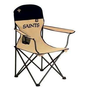 New Orleans Saints NFL Deluxe Folding Arm Chair by
