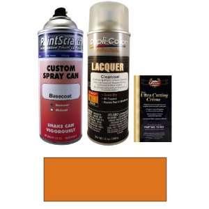 12.5 Oz. Blaze Orange Metallic Spray Can Paint Kit for 2007 Honda Fit