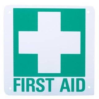 First Aid Kit Sign (Self Adhesive Vinyl) 4 x 4