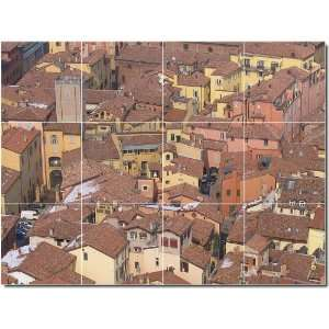 City Scenes Photo Wall Tile Mural 17  24x32 using (12
