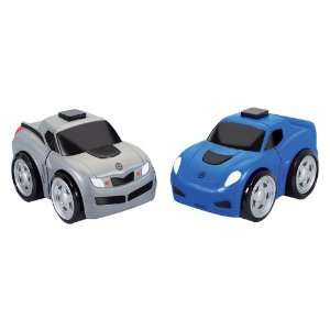Kid Galaxy Ratchet Racers Race Car/Pickup Truck Set Toys & Games