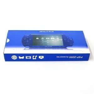 PSP 2000 Full Housing Case Shell Faceplate Dark Blue