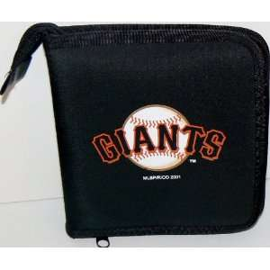 MLB Licensed San Francisco Giants CD DVD Blu Ray Wallet Electronics