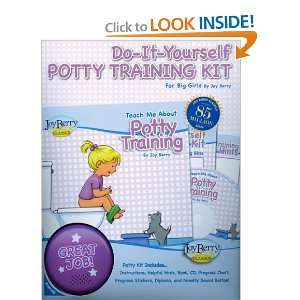 Do It Yourself Potty Training Kit for Girls (Teach Me