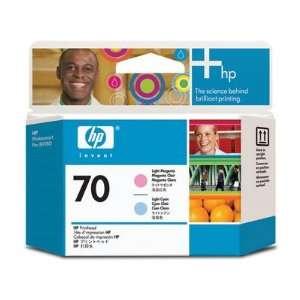 Hewlett Packard 70 Printhead Light Cyan/Light Magenta