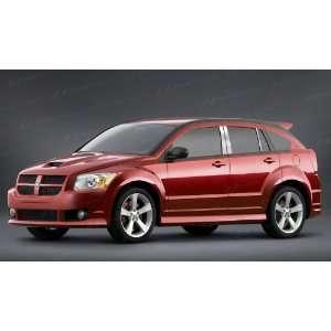 Dodge Caliber Chrome Pillar Posts 2006 2011 6 Pc