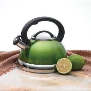 Alexa 3.0 qt. Whistling Stainless Steel Tea Kettle in