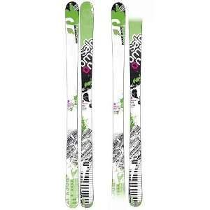 Salomon Twenty Twelve Skis White/Green 171cm: Sports
