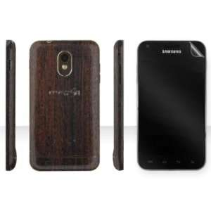Samsung Galaxy S 2 Epic 4G Touch Mahogany Wood Full Body