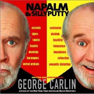 Napalm and Silly Putty [Audio CD] George Carlin Books