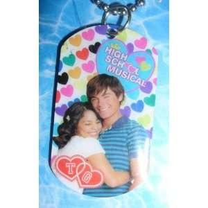 Disney High School Musical 2 Charm Necklace Troy & Gabriella  Toys
