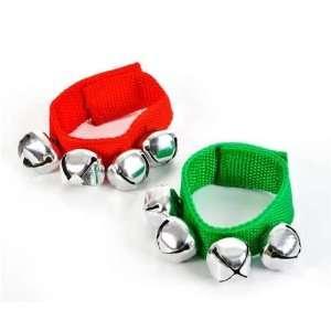 Jingle Bell Band Bracelets   12 per unit Toys & Games