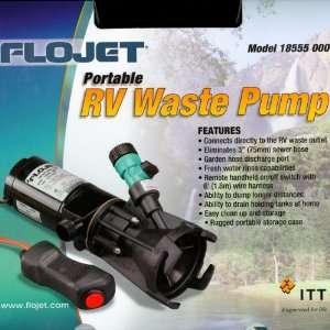 Macerator Pump Septic Tank Dump Pump Portable RV Waste Pump (Storage