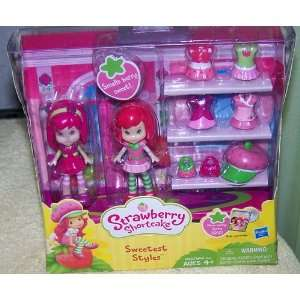 Strawberry Shortcake Sweetest Styles Mini Dolls Toys