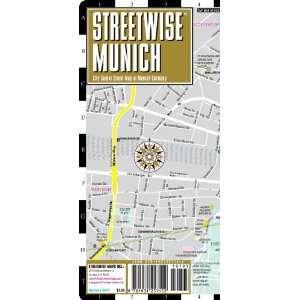Streetwise Munich Map   Laminated City Center Street Map