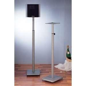 Silver VTI BLE101 Surround Sound Adjustable Speaker Stand
