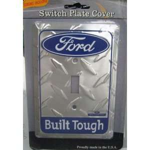 Ford   Builts Tough Single Light Switch Plate Cover