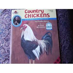 Country Chickens Decorative Painting #9542 (10 Chicken
